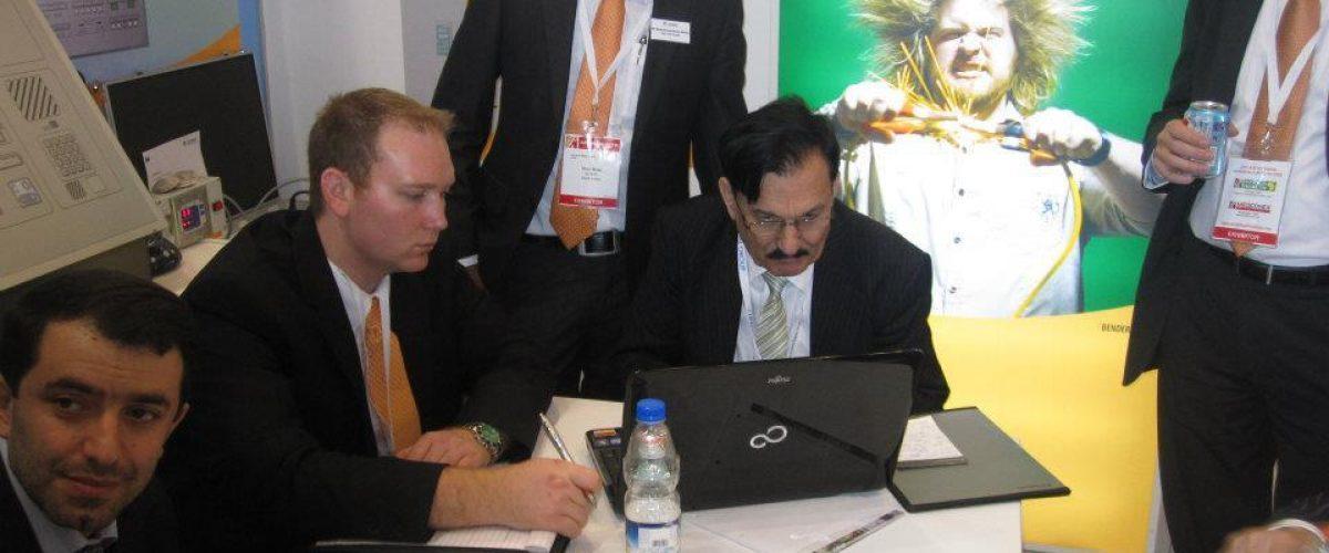 Exhibition in Arab Fair 2012